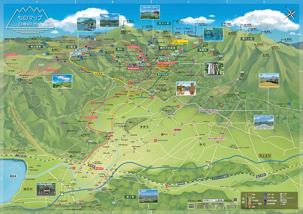 茅野市ロードマップ